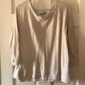 Banana Republic 3/4 length sweatshirt